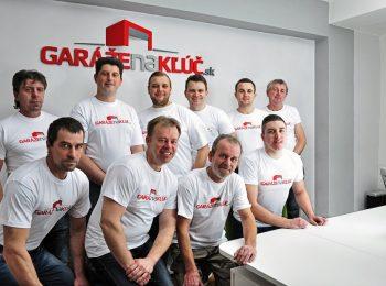 Tím Garáže na Kľúč.sk