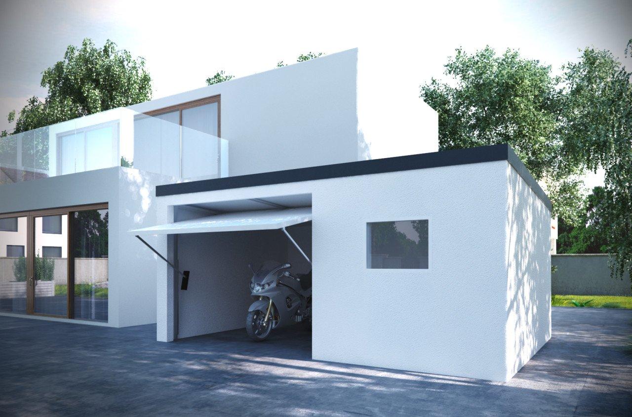 garáž pre motocykel