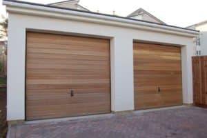 murovaná garáž