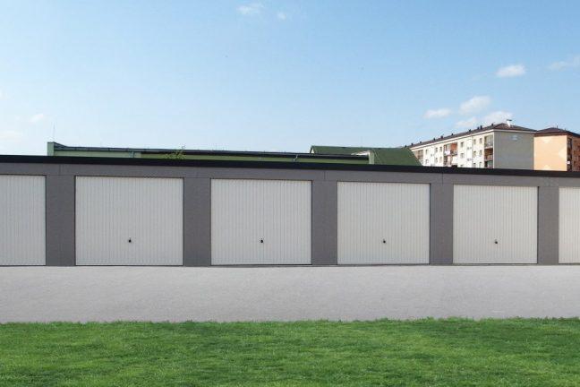 Montované garáže s hotovou omietkou
