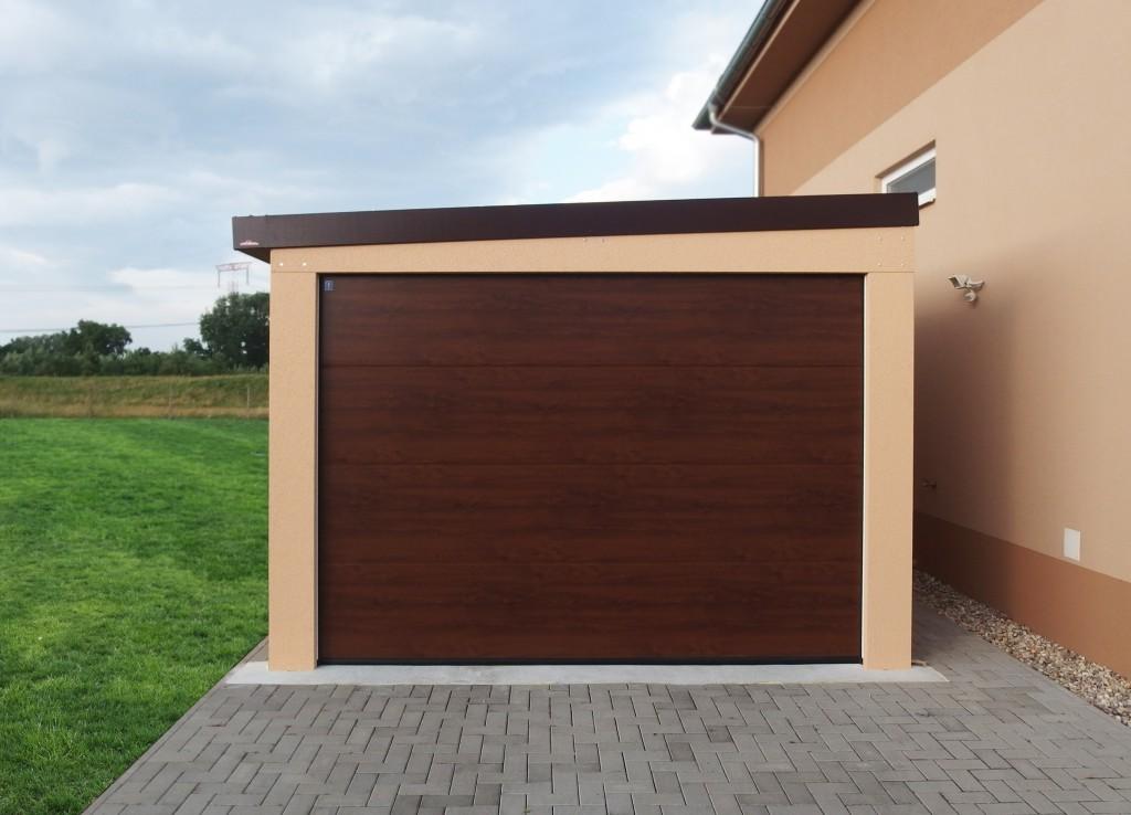 lacná montovaná garáž