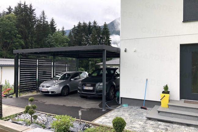 Autá zaparkované v prístrešku GARDEON