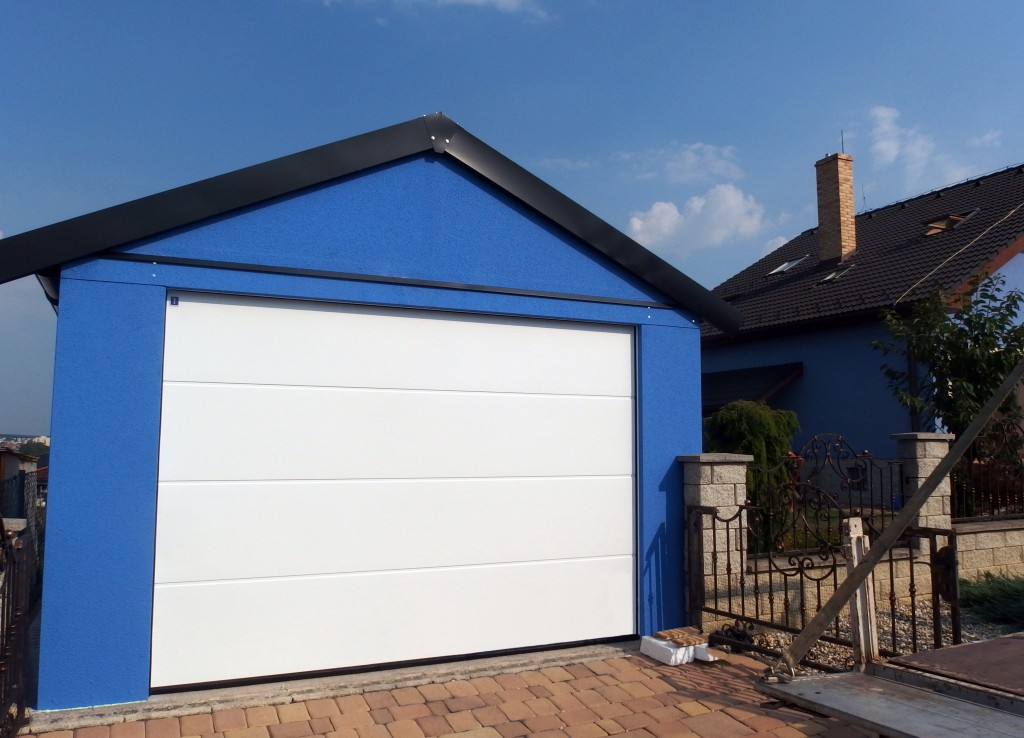 garáže so sedlovou strechou