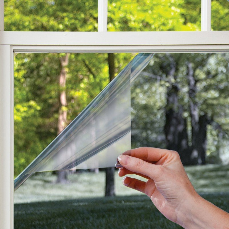 Nepriehľadné fólie na okná garáže