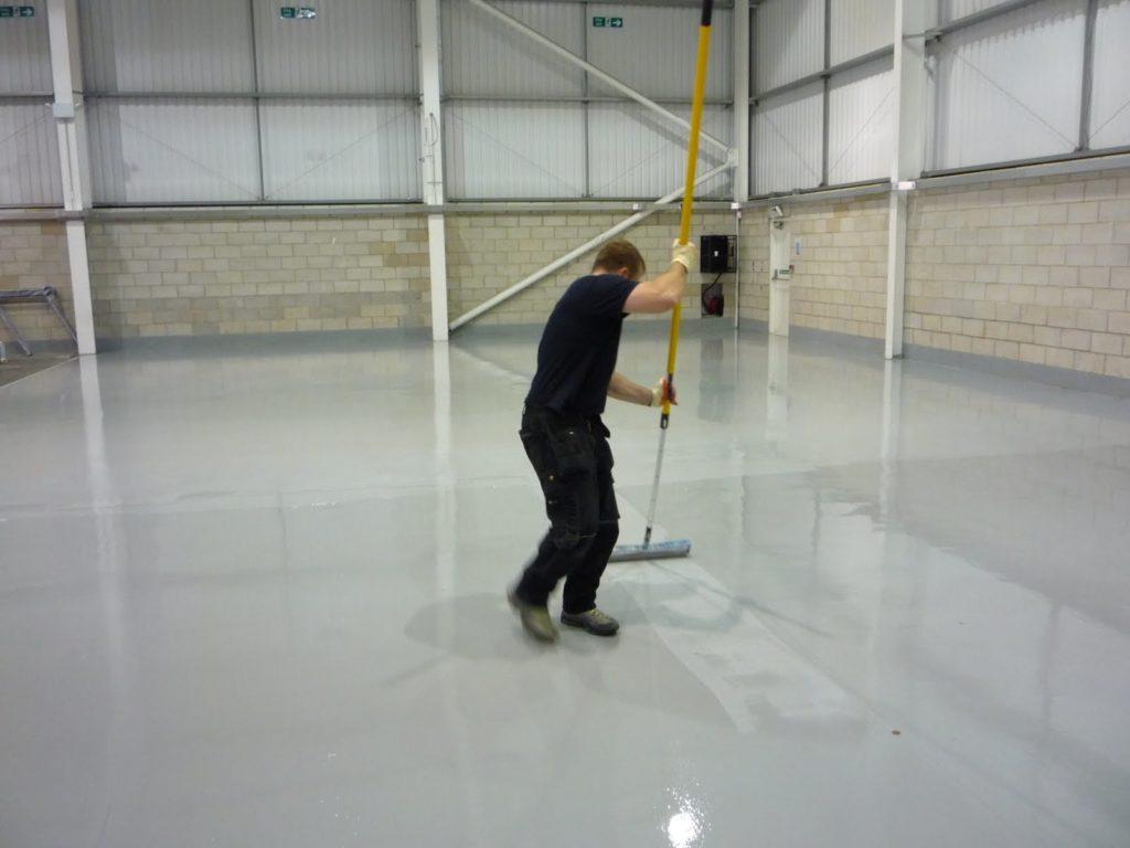epoxidová podlaha do garáže