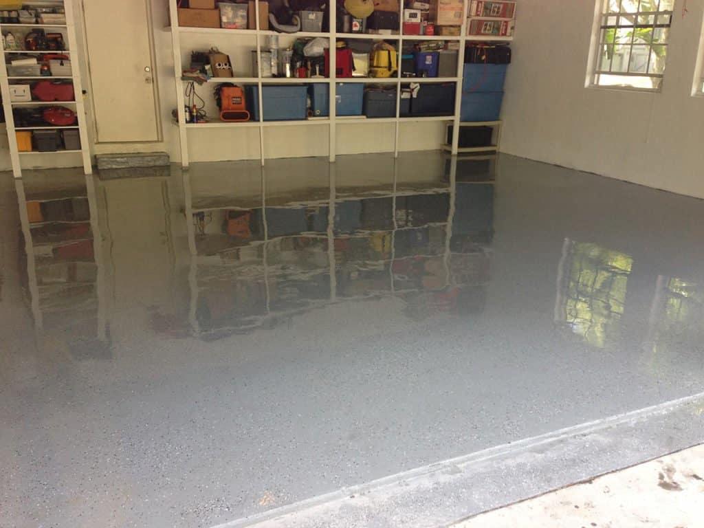 Podlaha do montovanej garáže