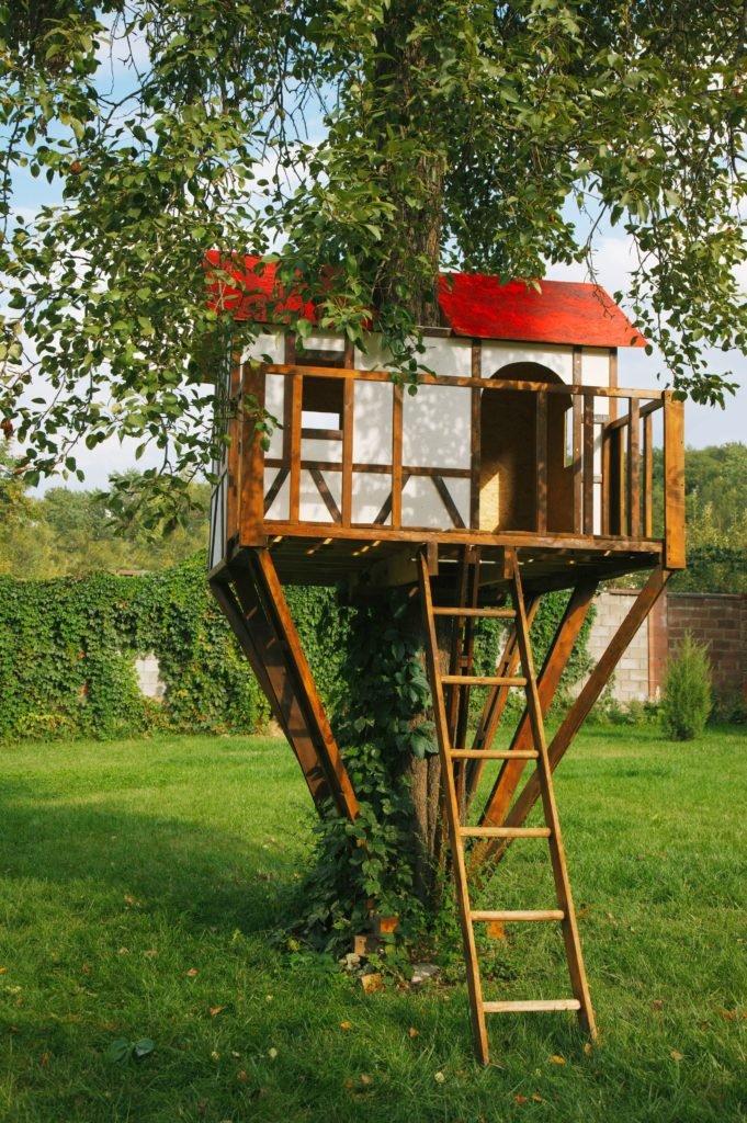 záhradný domček na strome