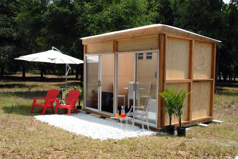 domček pre hostí