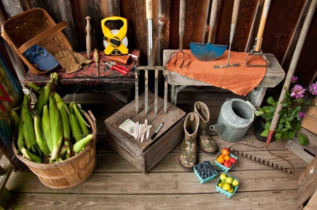 priestor na záhradné potreby
