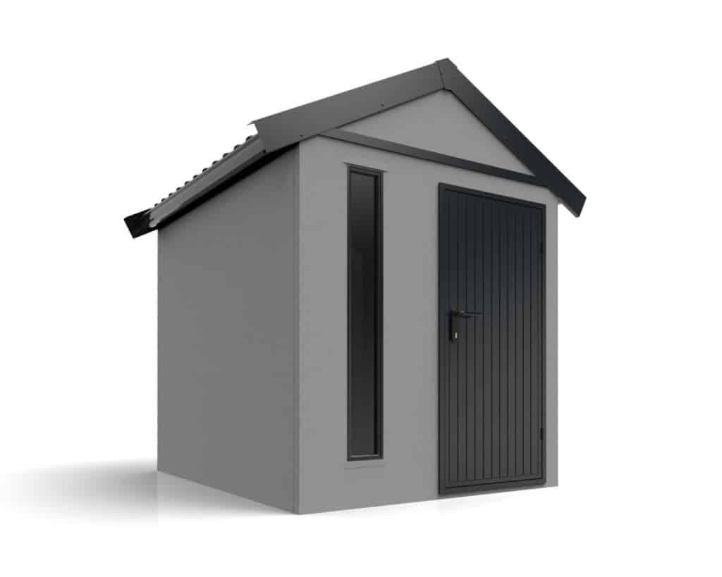 montovaný záhradný domček