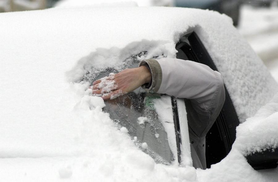 ako ochrániť auto pred mrazom