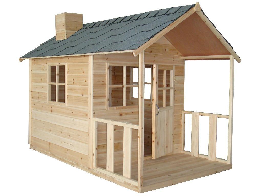 záhradný drevený domček