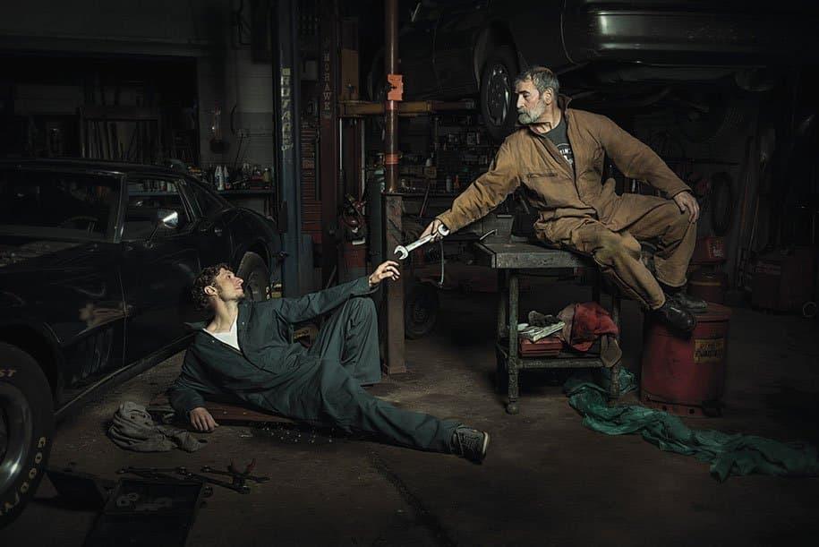 renaissance-paintings-recreated-auto-mechanics-photography-freddy-fabris-6