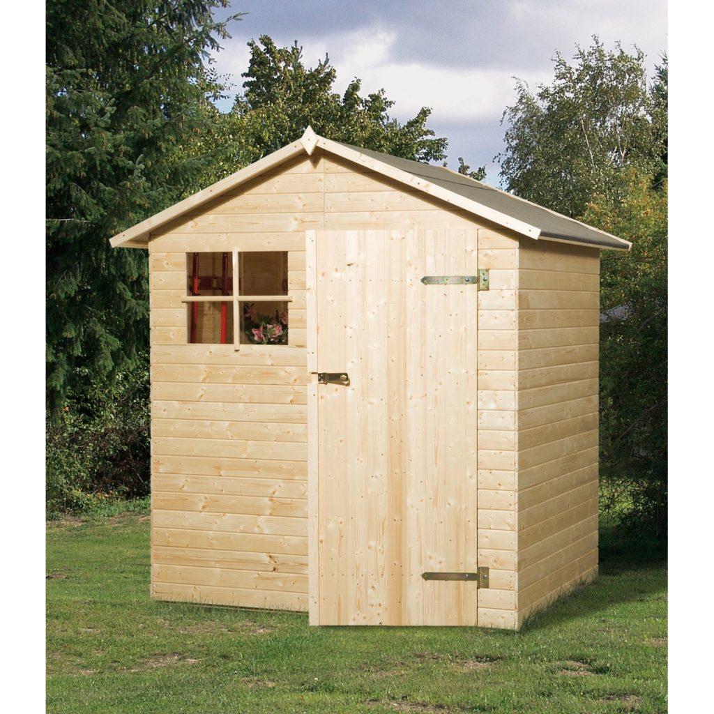 Typový drevený záhradný domček