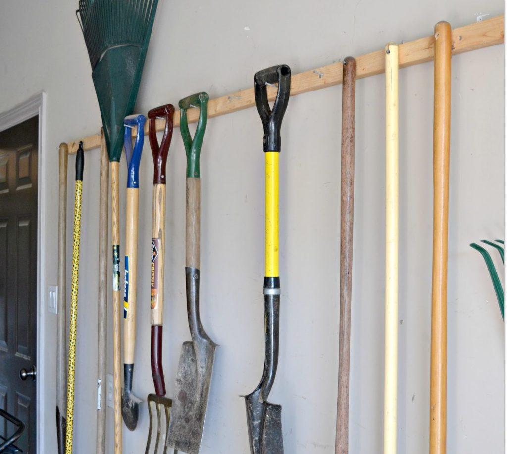 Závesný systém v garáži