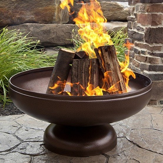 Drevo v ohnisku