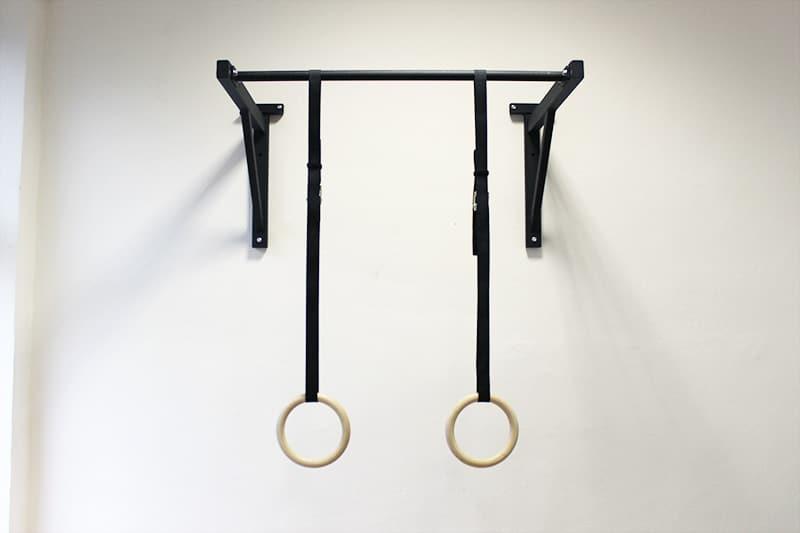 Gymnastické kruhy na cvičenie