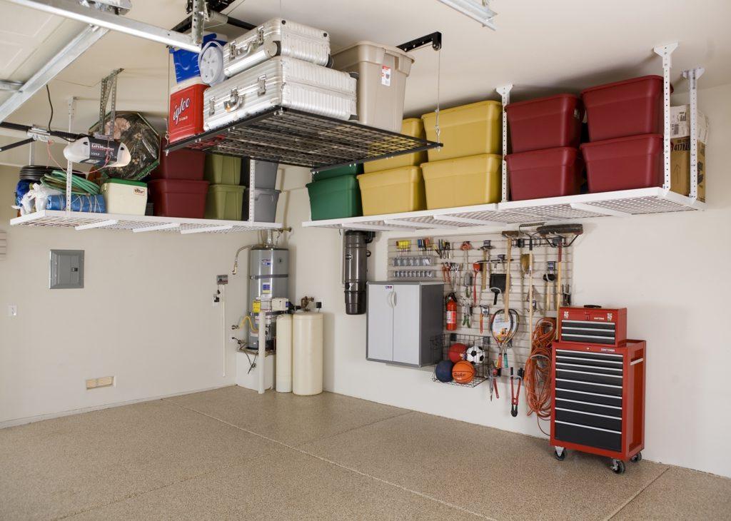 Úložný priestor v garáži