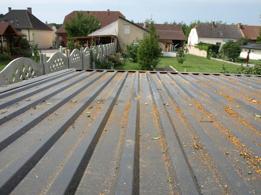 Plechová strecha