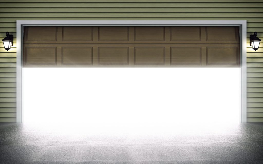 Otváranie garážovej brány