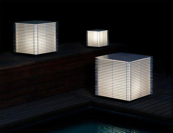 LED lampy na záhradu