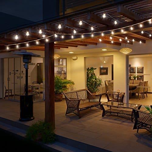 Osvetlenie na záhradnú stavbu