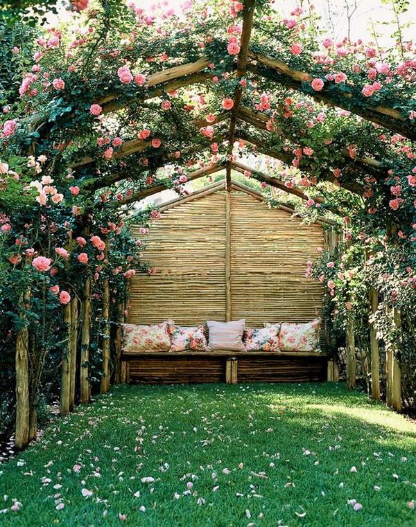 Záhradné posedenie v záhrade