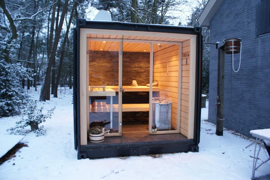 Sauna na záhrade