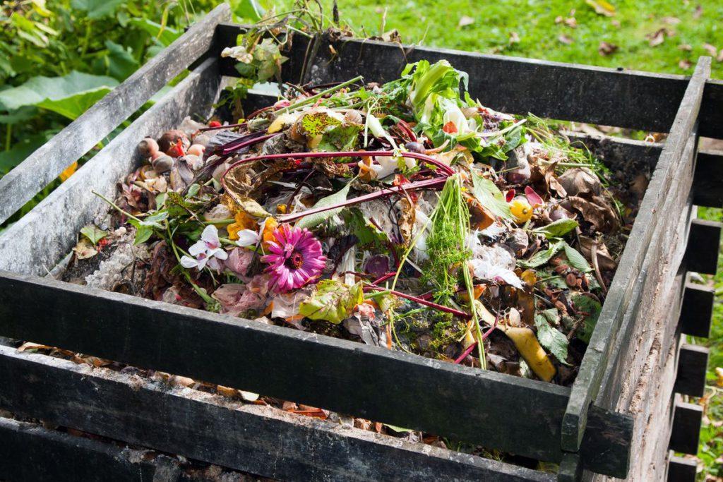 Hnoj, skladisko odpadu