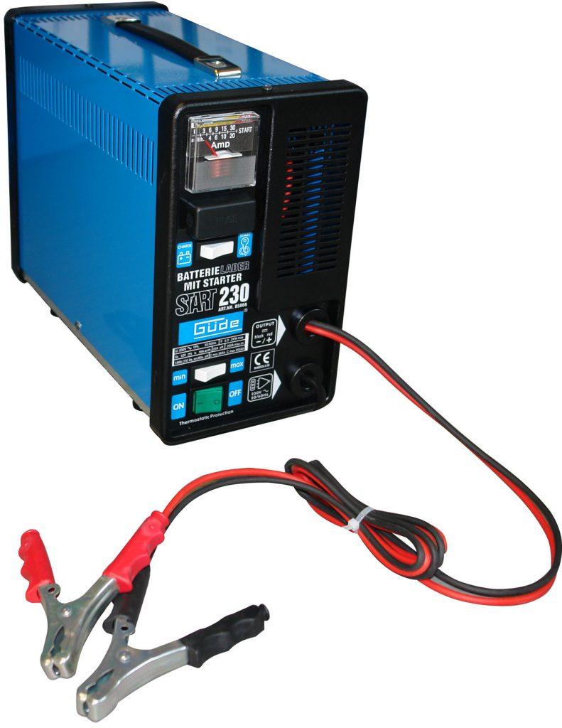 Externá nabíjačka autobatérie