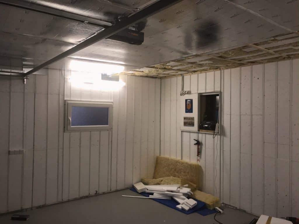Izolácia stropu v garáži svojpomocne