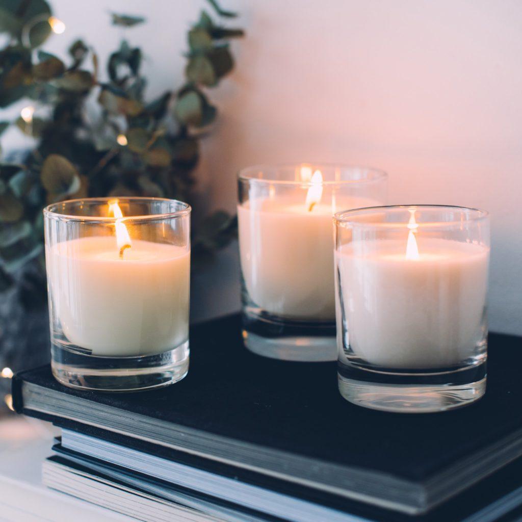 Biele sviečky
