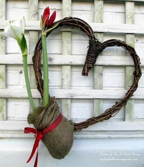Srdce s tulipánmi