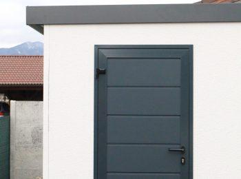 Dvere Hormann LPU40 v antracitovej farbe