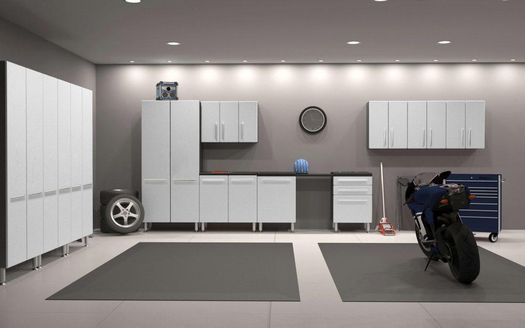 Moderné skrine do garáže
