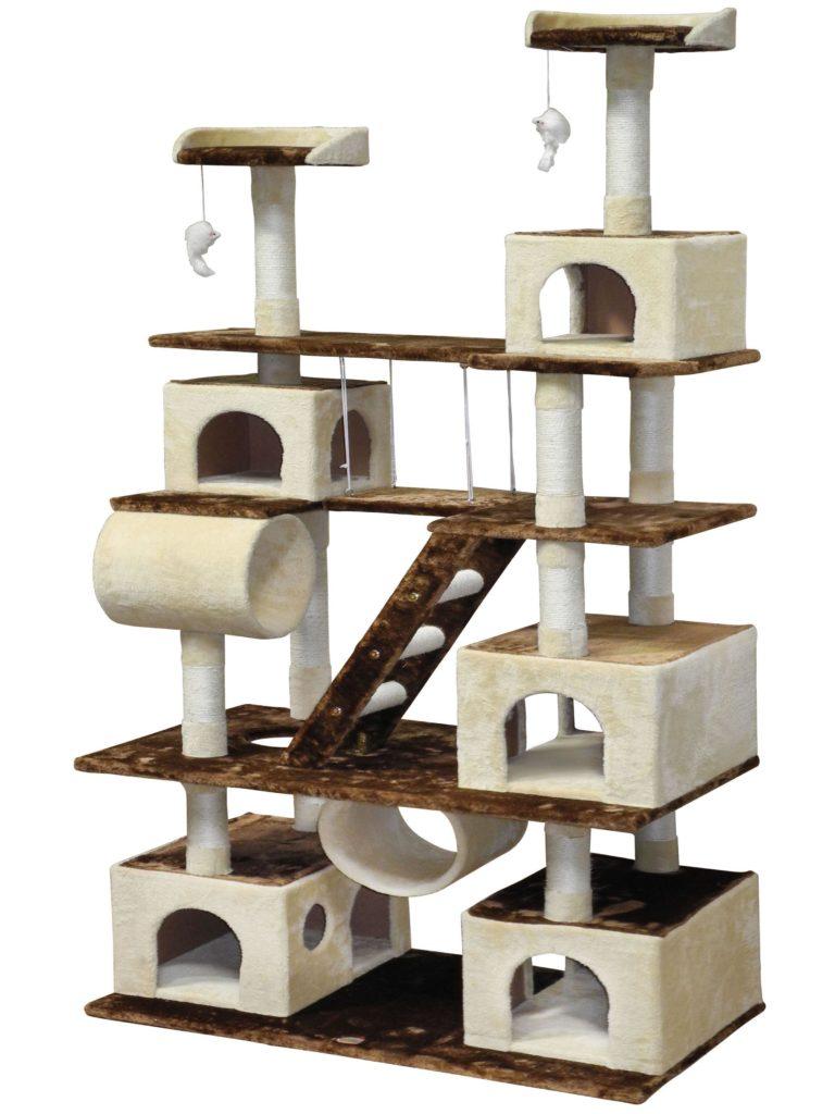 Poschodový pelech pre mačku
