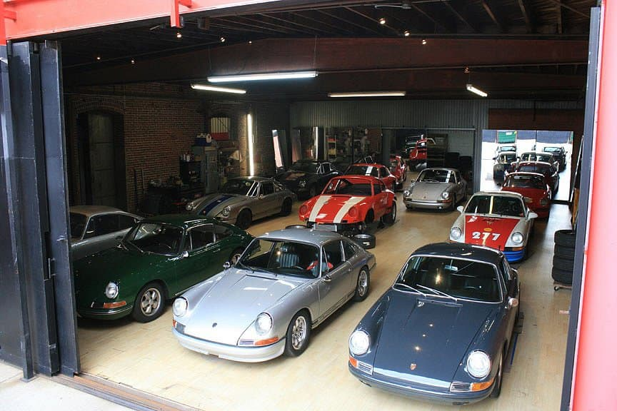Zbierka áut