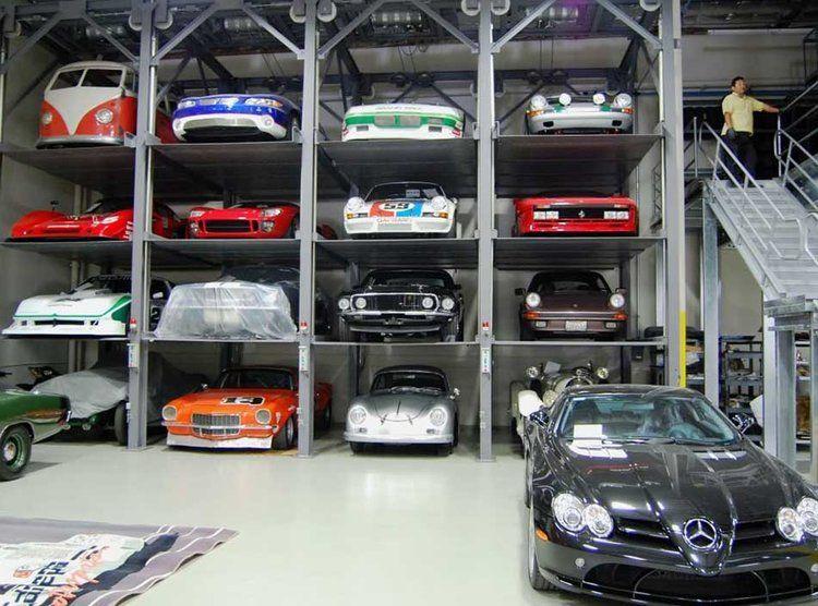 Poschodová garáž pre autá