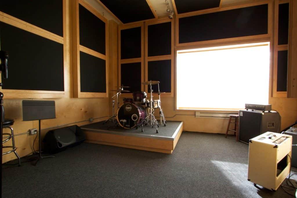 Bubny v hudobnom štúdiu