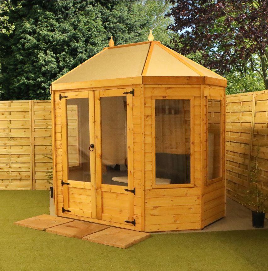 Záhradný domček z dreva
