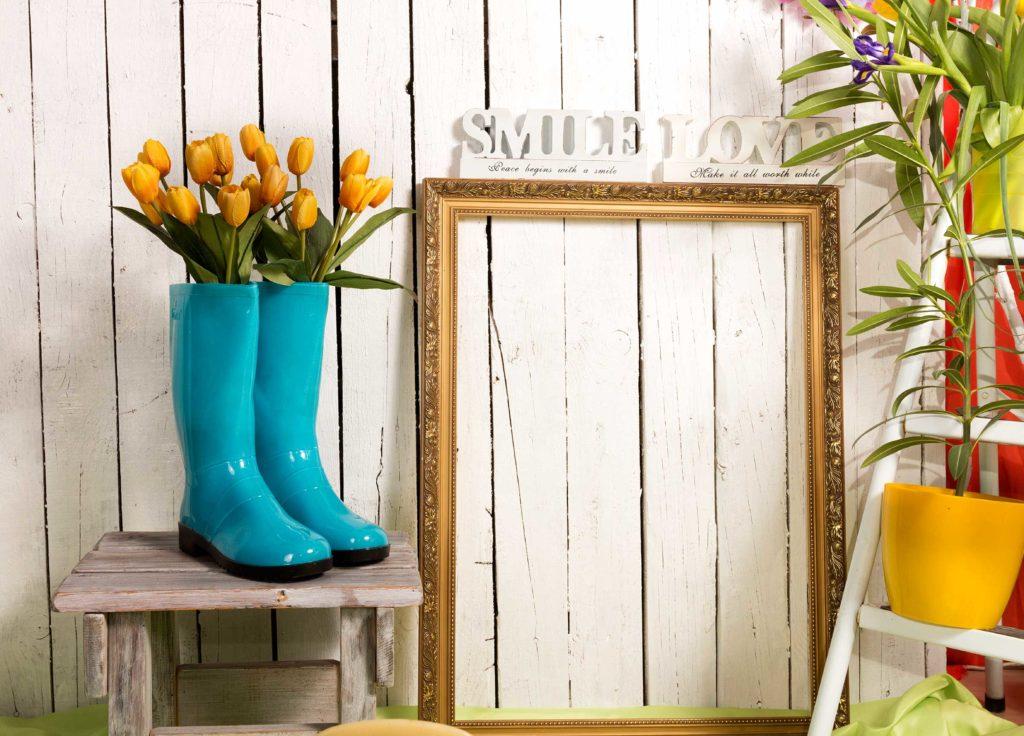 Tulipány v modrých čižmách