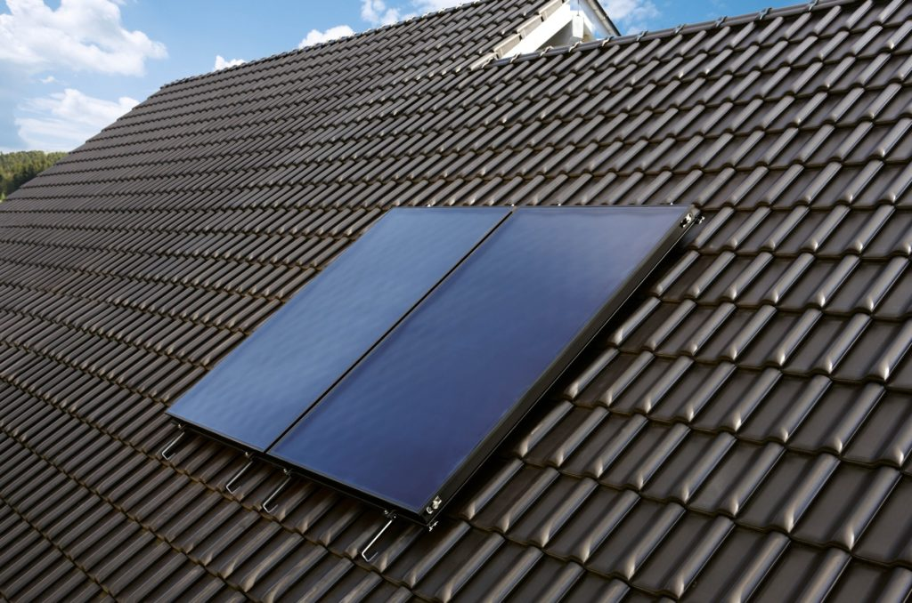 Solárny panel na streche
