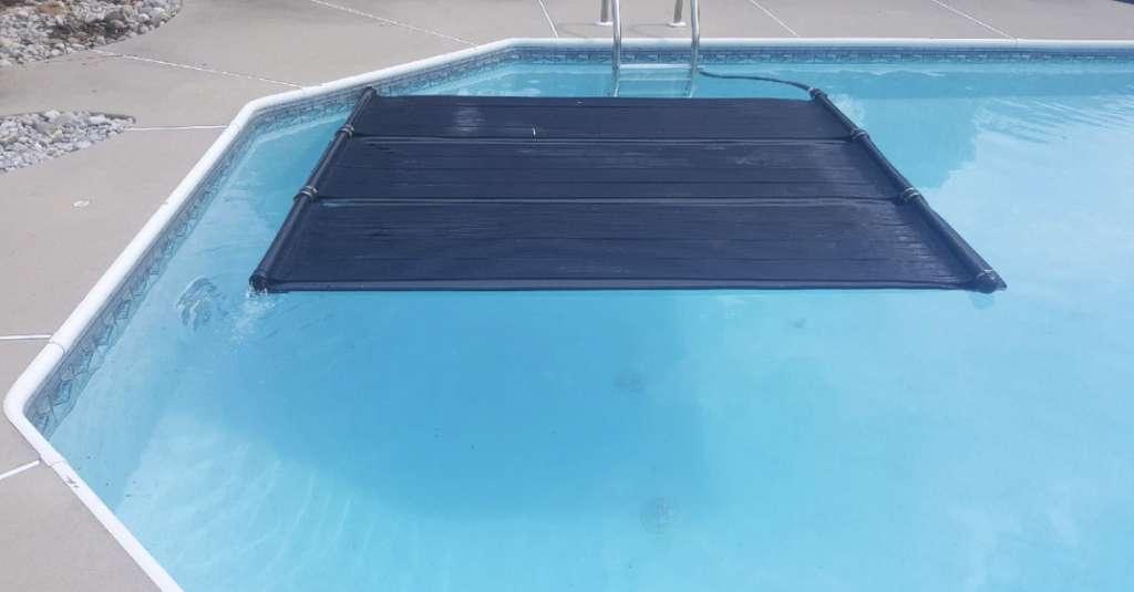 Solárna podložka do bazéna