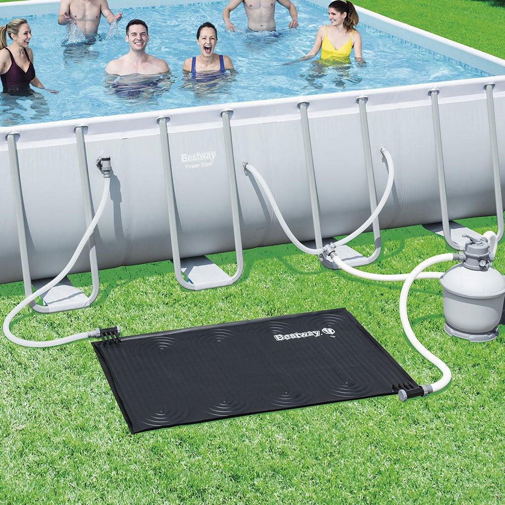 Nafukovací bazén so solárnym ohrevom