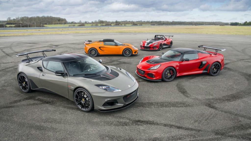 Autá Lotus