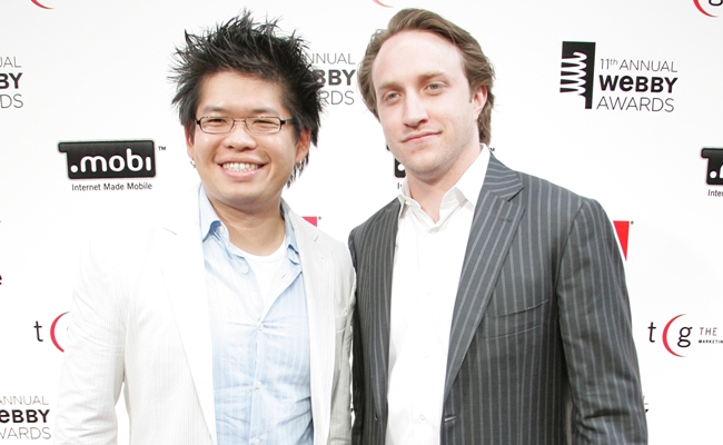 Chad Hurley a Steve Che