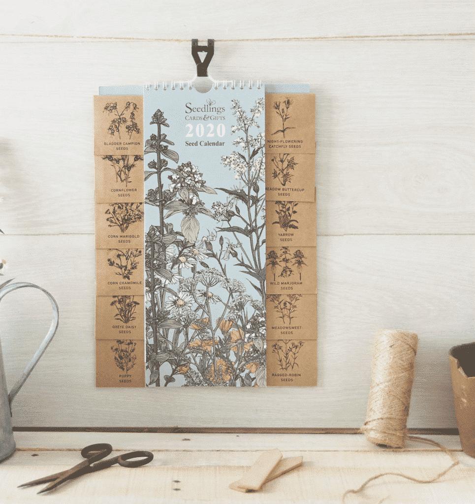 Kalendár so semiačkami