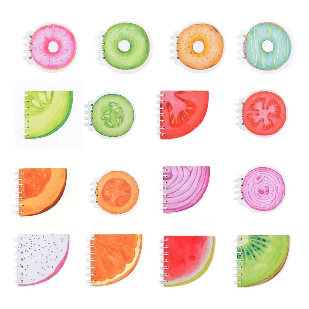 Zápisníky s farebnou potlačou