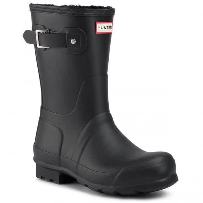 Topánky Hunter v čiernej farbe