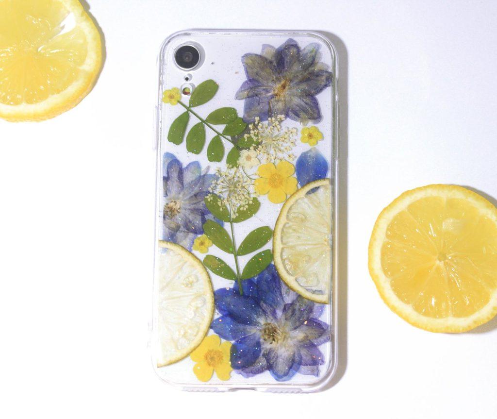 Obal na iPhone s citrónom